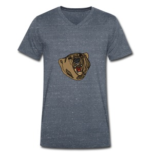 beer sweater (grey) - Mannen bio T-shirt met V-hals van Stanley & Stella