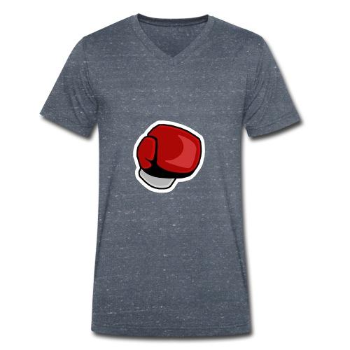 BANGI Punch Logo - T-shirt ecologica da uomo con scollo a V di Stanley & Stella