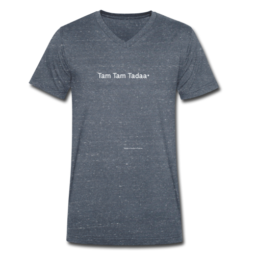 Tam Tam Tadaa_Black & White - T-shirt bio col V Stanley & Stella Homme