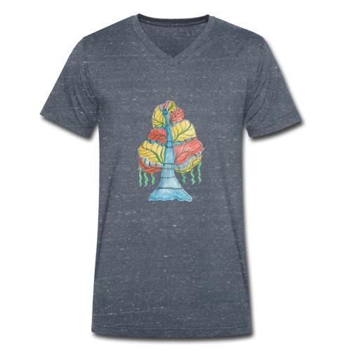 albero_alma_2015_2 - T-shirt ecologica da uomo con scollo a V di Stanley & Stella