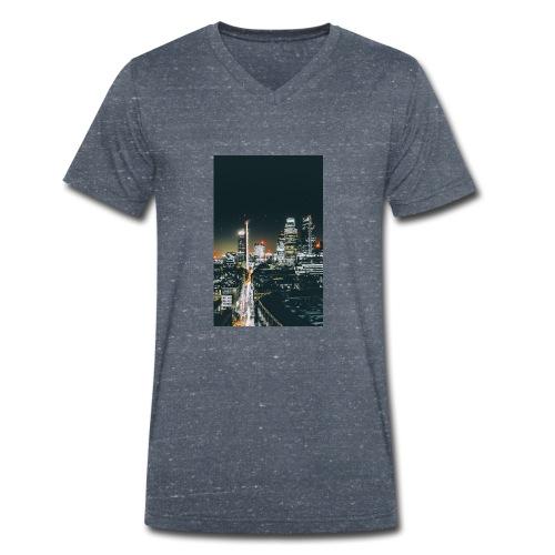 London night light - Men's Organic V-Neck T-Shirt by Stanley & Stella