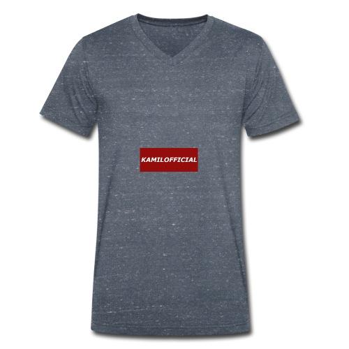 KAMILOFFICIALWEAR - Men's Organic V-Neck T-Shirt by Stanley & Stella