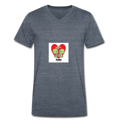 bhnvdloove-png - Camiseta ecológica hombre con cuello de pico de Stanley & Stella