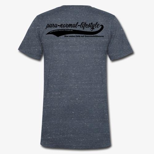 PNL Querschnittlähmung hinten (Aufdruck black) - Männer Bio-T-Shirt mit V-Ausschnitt von Stanley & Stella