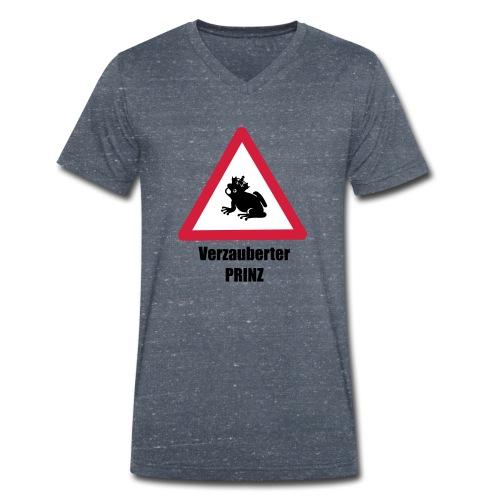 Ich bin ein verzauberter Prinz - Männer Bio-T-Shirt mit V-Ausschnitt von Stanley & Stella