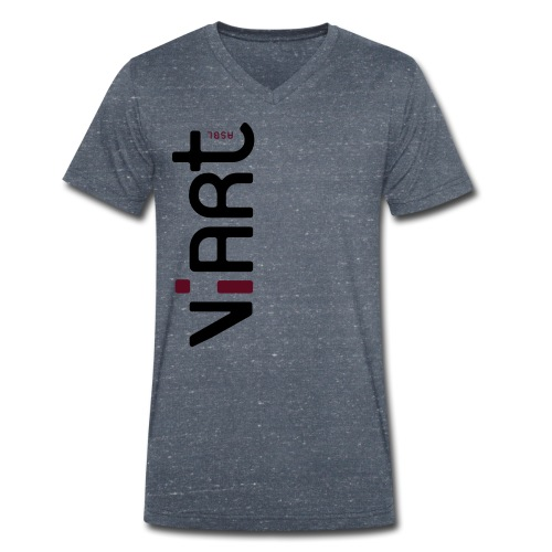 viart logo vect 2coul - Männer Bio-T-Shirt mit V-Ausschnitt von Stanley & Stella