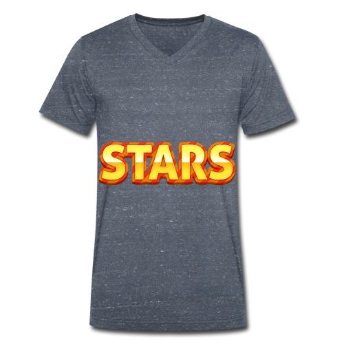 Stars - Ekologisk T-shirt med V-ringning herr från Stanley & Stella