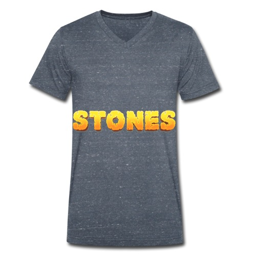Stones - Ekologisk T-shirt med V-ringning herr från Stanley & Stella
