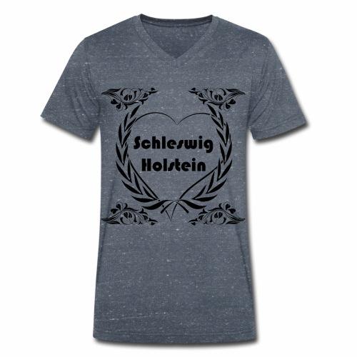 Ich liebe Schleswig-Holstein - Männer Bio-T-Shirt mit V-Ausschnitt von Stanley & Stella
