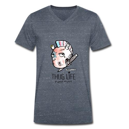 Stef 0004 00 Das Leben ist kein Ponyhof - Männer Bio-T-Shirt mit V-Ausschnitt von Stanley & Stella