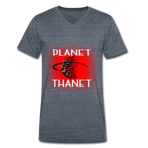 Planet Thanet - Made in Margate - Men's Organic V-Neck T-Shirt by Stanley & Stella