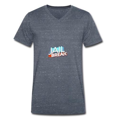jail break - Økologisk T-skjorte med V-hals for menn fra Stanley & Stella