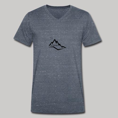 MWear/Main - Mannen bio T-shirt met V-hals van Stanley & Stella