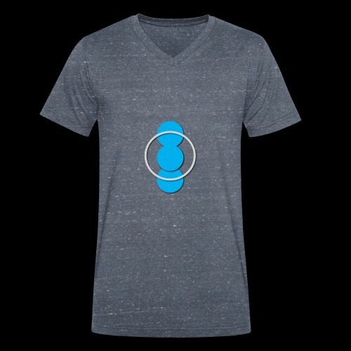 Circle - Men's Organic V-Neck T-Shirt by Stanley & Stella
