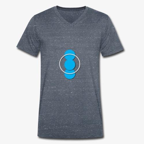 Circle - T-shirt ecologica da uomo con scollo a V di Stanley & Stella