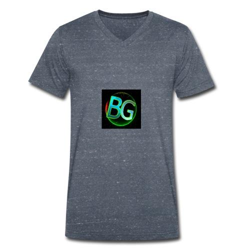 Baboe Games logo - Mannen bio T-shirt met V-hals van Stanley & Stella