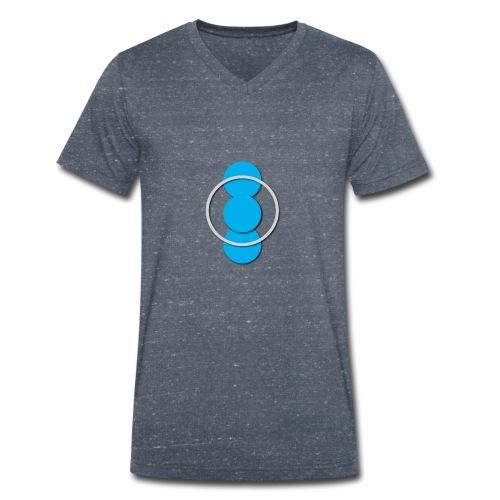 Circle - Men's Organic V-Neck T-Shirt by Stanley & Stella