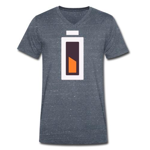 Batterie - En charge... - T-shirt bio col V Stanley & Stella Homme