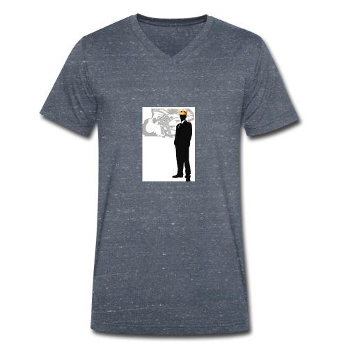 Göppingen heute THE KING Werbungstadtmagazin GP - Männer Bio-T-Shirt mit V-Ausschnitt von Stanley & Stella