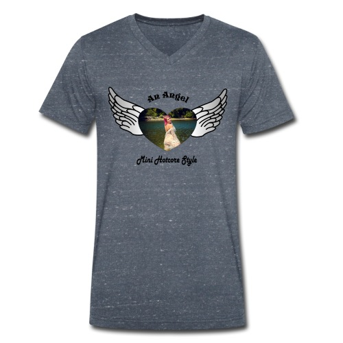 An Angel bunt - Männer Bio-T-Shirt mit V-Ausschnitt von Stanley & Stella