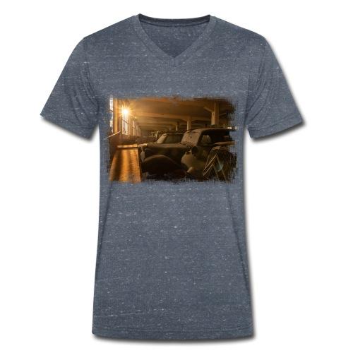 Olditimer Sunset - Männer Bio-T-Shirt mit V-Ausschnitt von Stanley & Stella