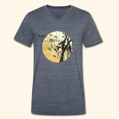 Bamboo - Ekologisk T-shirt med V-ringning herr från Stanley & Stella