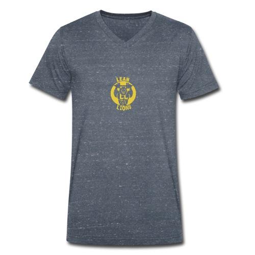 Lean Lions Merch - Men's Organic V-Neck T-Shirt by Stanley & Stella