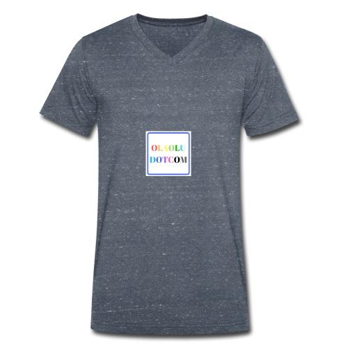 OLAOLUDOTCOM - Men's Organic V-Neck T-Shirt by Stanley & Stella