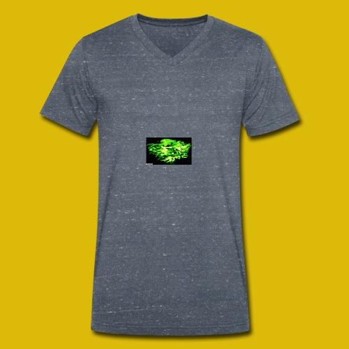 lucentipes dark - T-shirt bio col V Stanley & Stella Homme