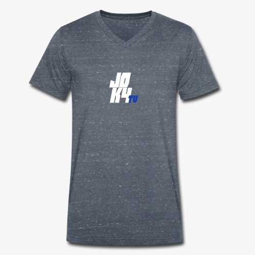 jokalogo - Männer Bio-T-Shirt mit V-Ausschnitt von Stanley & Stella