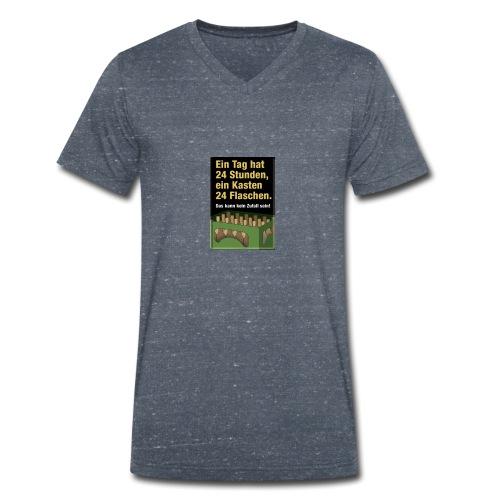 Bauern Sprüche - Männer Bio-T-Shirt mit V-Ausschnitt von Stanley & Stella