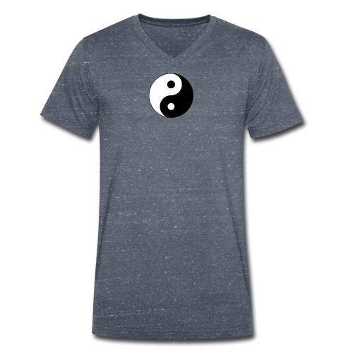Yin Yang balance in life - Men's Organic V-Neck T-Shirt by Stanley & Stella