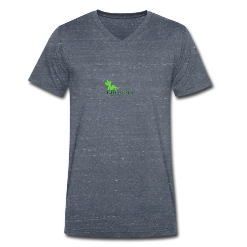 Elfentanz Logo - Männer Bio-T-Shirt mit V-Ausschnitt von Stanley & Stella