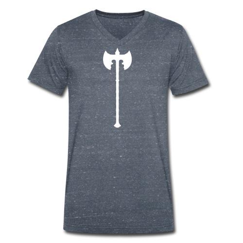 Axt - Männer Bio-T-Shirt mit V-Ausschnitt von Stanley & Stella