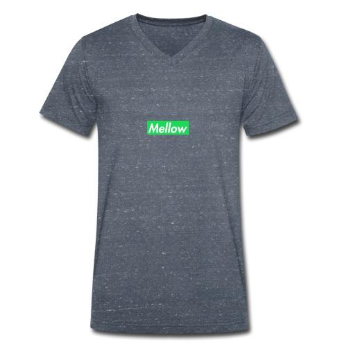 Mellow Green - Men's Organic V-Neck T-Shirt by Stanley & Stella
