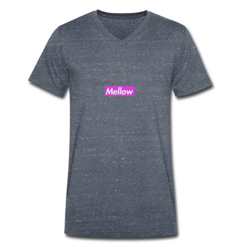 Mellow Purple - Men's Organic V-Neck T-Shirt by Stanley & Stella