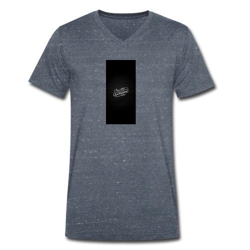 Pablo poncio - Camiseta ecológica hombre con cuello de pico de Stanley & Stella