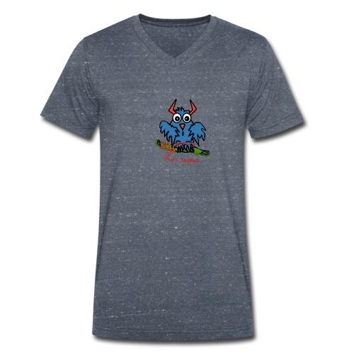 1523968600600 - Ekologisk T-shirt med V-ringning herr från Stanley & Stella