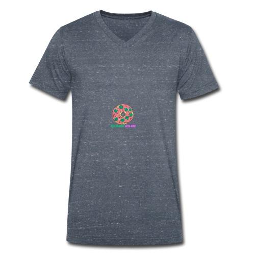 20%Healthy 80%Junk - T-shirt bio col V Stanley & Stella Homme