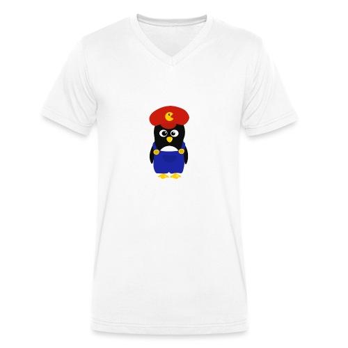 Pingouin Mario - T-shirt bio col V Stanley & Stella Homme