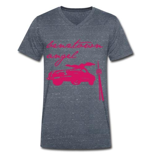 benztown angel - Männer Bio-T-Shirt mit V-Ausschnitt von Stanley & Stella