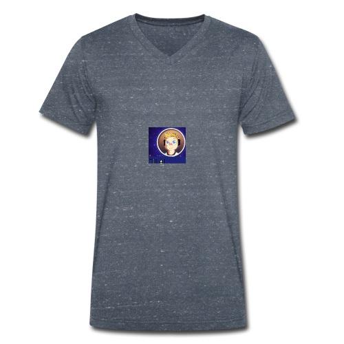nm - Mannen bio T-shirt met V-hals van Stanley & Stella