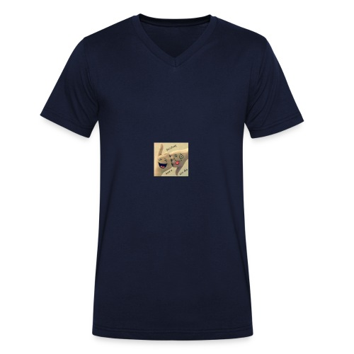 Friends 3 - Men's Organic V-Neck T-Shirt by Stanley & Stella
