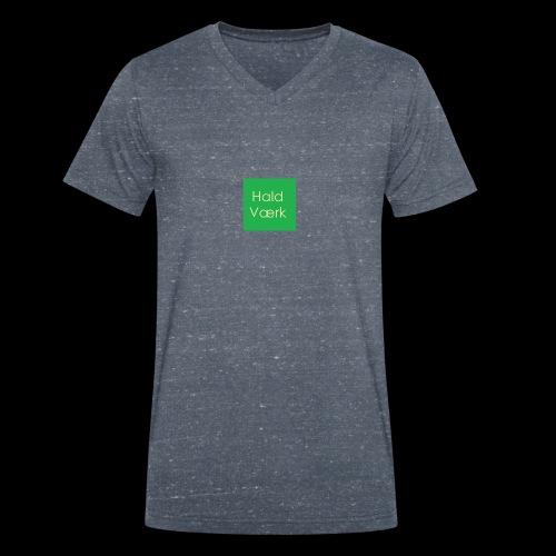 Haldværk - Økologisk Stanley & Stella T-shirt med V-udskæring til herrer