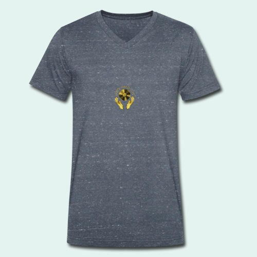 100% HAND-CUT - Men's Organic V-Neck T-Shirt by Stanley & Stella