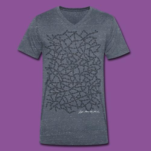 Nervenleiden 54 - Männer Bio-T-Shirt mit V-Ausschnitt von Stanley & Stella