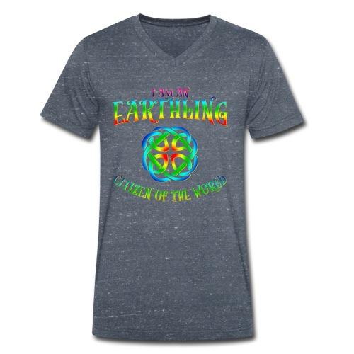 EARTHLING T-shirt - Ekologisk T-shirt med V-ringning herr från Stanley & Stella
