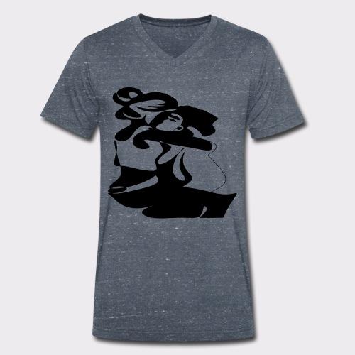 In Deinen Armen Liebespaar - Männer Bio-T-Shirt mit V-Ausschnitt von Stanley & Stella
