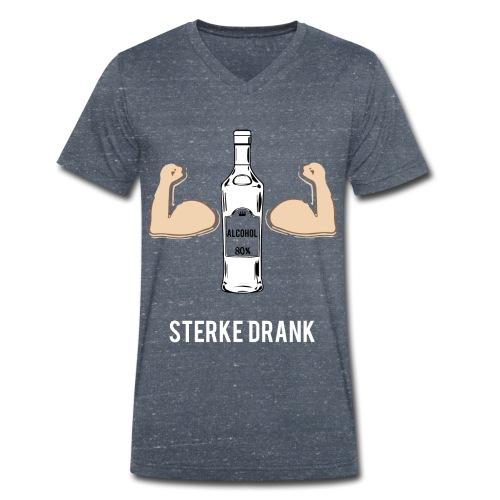 Sterke drank - Mannen bio T-shirt met V-hals van Stanley & Stella