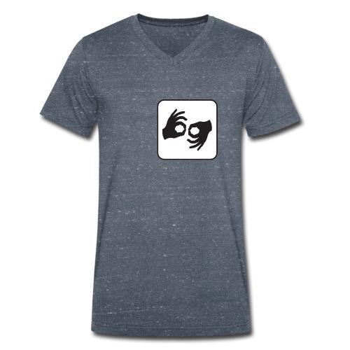 LaX - T-shirt ecologica da uomo con scollo a V di Stanley & Stella